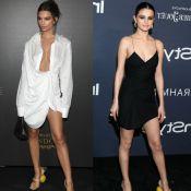 Emily Ratajkowski já usou sandália 'salto de laranja' de Selena Gomez. Compare!