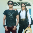 Sophia (Marieta Severo) embriaga Gael (Sergio Guizé) e sugere que ele será traído por Clara (Bianca Bin), na novela 'O Outro Lado do Paraíso'