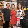 Boninho e Ana Furtado também marcaram presença no lançamento do livro de Daiana Garbin