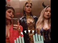 Bruna Marquezine, de Cleópatra para festa de Halloween, canta funk em NY. Vídeo!