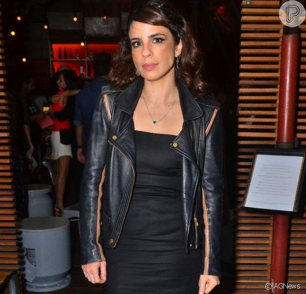 Maria Ribeiro foi agredida por segurança de um bar de Madrid, na Espanha, neste sábado, dia 28 de outubro de 2017