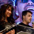 Dani Suzuki apresentou evento beneficente, em São Paulo, ao lado do irmão de Rodrigo Faro, Danilo Faro