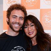 Dani Suzuki posa pela 1ª vez com o namorado, Fernando Roncato, em evento. Fotos!
