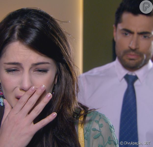 Cecília (Bia Arantes) termina com Gustavo (Carlo Porto) e os dois sofrem com a decisão, no capítulo que vai ao ar segunda-feira, 6 de novembro de 2017, na novela 'Carinha de Anjo'