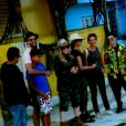 Madonna visitou o Morro da Providência durante visita ao Rio de Janeiro