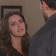 Verônica (Elisa Brites) diz para Gustavo (Carlo Porto) que talvez Cecília (Bia Arantes) não o ame mais, na novela 'Carinha de Anjo'