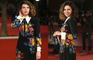 Bruna Linzmeyer brilha com vestido floral no Festival de Cinema de Roma. Fotos!