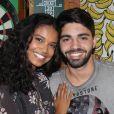 Aline Dias e Rafael Cupello estão juntos desde setembro de 2016