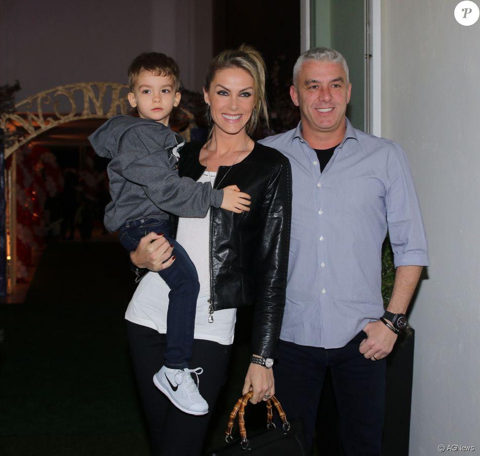 Filho de Ana Hickmann e o empresário  Alexandre Correa será pajem do casamento de Ticiane Pinheiro e Cesar Tralli