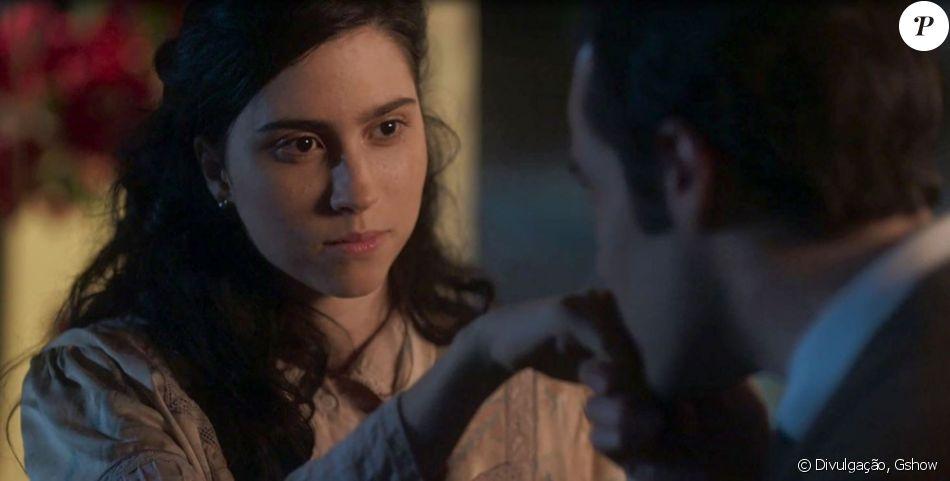 Fernão (Jayme Matarazzo) marcará um encontro com Tereza (Olivia Torres) em um moinho antigo e afastado, na novela 'Tempo de Amar', no capítulo de 18 de novembro de 2017