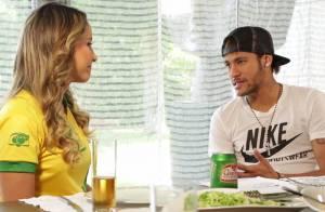 Neymar fala sobre pressão para jogar na Copa em entrevista à Claudia Leitte