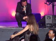 Luciano Camargo canta para mulher e filhas gêmeas em show com Zezé: 'Muito amor'
