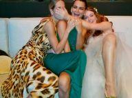 Marina Ruy Barbosa relembra casamento em foto com amigas: 'Noivinha comportada'