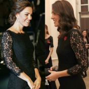 Aos 4 meses, Kate Middleton repete look usado em gravidez de Charlotte. Fotos!
