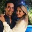 Ticiane Pinheiro e Cesar Tralli vão fechar um hotel para o casamento, em dezembro