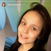Larissa Manoela volta a ficar morena para novela do SBT: 'De volta às raízes!'