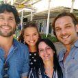 Paula Richard, autora de 'O Rico e Lázaro', nega insatisfação da Record TV pelos baixos índices de audiência em São Paulo: 'O retorno que recebemos é maravilhoso'