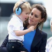 Grávida, Kate Middleton leva príncipe George à escola diariamente: 'Acostumando'