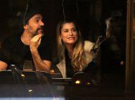 Alinne Moraes e o marido jantam com Caetano Veloso em sushi bar. Fotos!