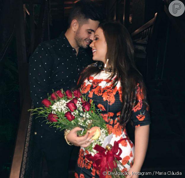 Maria Cláudia terminou o namoro com Edilson Junior, prefeito do município de Sítio Novo, no Rio Grande do Norte