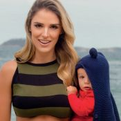 Rafa Brites passou por mudanças no corpo após nascimento do filho: 'Estrias'