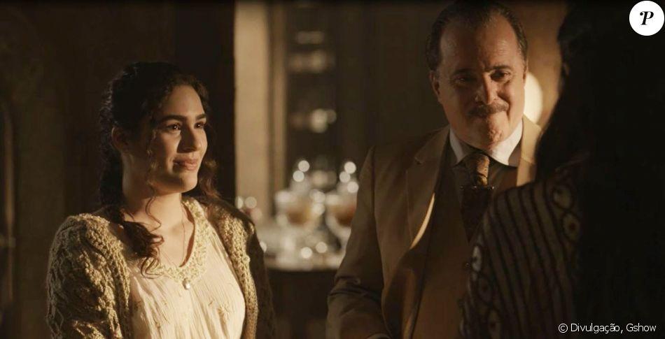 Na novela 'Tempo de Amar', Angélica (Lívian Aragão) cuidará da neta de José Augusto (Tony Ramos)