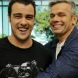 A sintonia de Otaviano Costa e Joaquim Lopez é destaque no 'Vídeo Show'