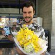 Joaquim Lopes ganhou uma festa de aniversário da equipe do 'Vídeo Show'