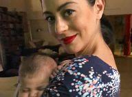 Carol Castro relata dores no parto da filha, Nina:'Sem nenhum tipo de anestesia'