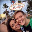 Thais Fersoza e Michel Teló viajaram para Las Vegas; juntos desde 2012, casal tem curtido momentos juntos em viagens