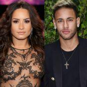 Demi Lovato, após trocar likes com Neymar, assiste jogo da seleção brasileira