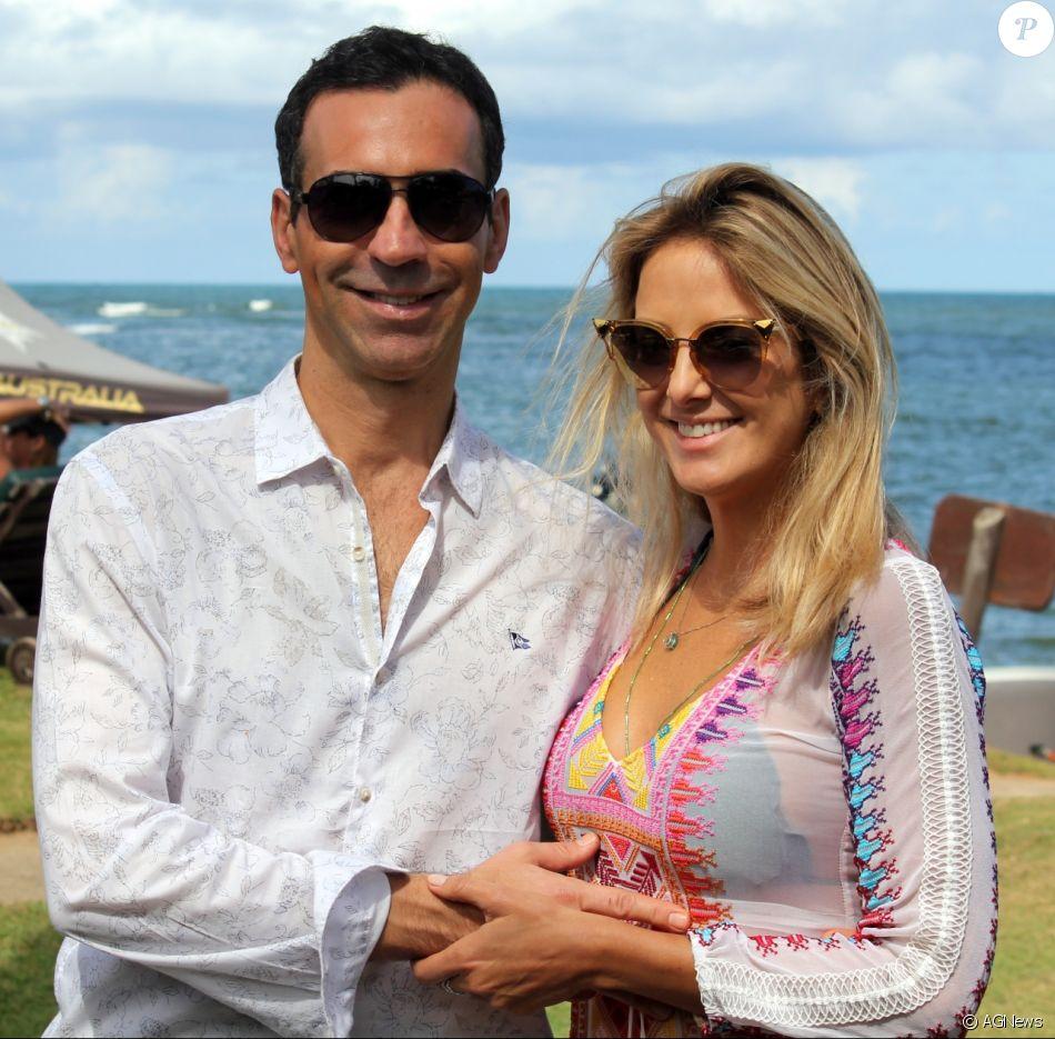 Ticiane Pinheiro adota sobrenome do marido, Cesar Tralli