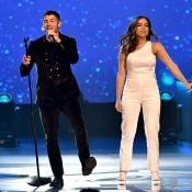 Anitta faz show com Nick Jonas em homenagem a Alejandro Sanz em pré-Grammy