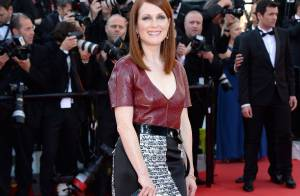Julianne Moore arrasa em red carpet do Festival de Cannes 2014. Veja os looks!