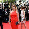 Daniela Lumbroso prestigia a exibição do filme 'Mr. Turner' no Festival de Cannes 2014