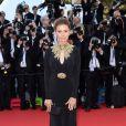 Victoria Bonia veste Alexander MCQueen no tapete vermelho do filme 'Mr. Turner', no Festival de Cannes 2014