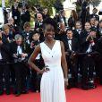 Aissa Maiga prestigia a exibição do filme 'Mr. Turner' no Festival de Cannes 2014