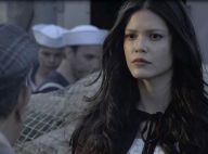 'Tempo de Amar': Maria Vitória escapa de explosão e ganha beijo de Vicente