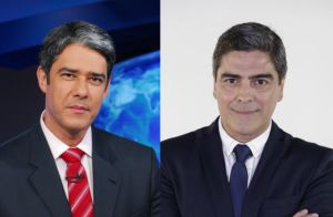 William Bonner x Junno Andrade: jornalista e ator são comparados. Entenda!