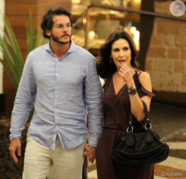 Fátima Bernardes e Túlio Gadêlha viajam a Recife para curtir feriado, em 18 de novembro de 2017