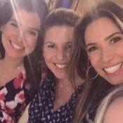 Patricia Abravanel, à espera do 2º filho, posa com as irmãs grávidas: 'Alegria'