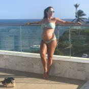 Ivete Sangalo mostra o barrigão em foto de biquíni: 'Tô muito gravidínea'