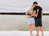 Karina Bacchi publica 1ª foto com namorado, Amaury Nunes, e fãs vibram: 'Lindos'
