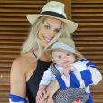 Enrico é o primeiro filho de Karina Bacchi e fruto de uma produção independente