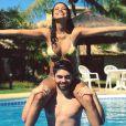 Namorada de Rafael Cupello, Aline Dias está realizada com a experiência de ser mãe