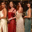 Juliana Paes, Marina Ruy Barbosa, Mariana Goldfarb e Giulia Buscacio esbanjam glamour no Emmy 2017