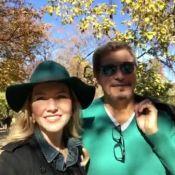 Edson Celulari curte Espanha com mulher, Karin Roepke, após casamento na Itália