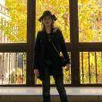 Karin Roepke também posou no Museu Rainha Sofia durante a viagem do casal
