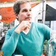 Edson Celulari foi clicado pela mulher durante um passeio na capital espanhola: ' Museu Reina Sofia'