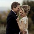 Edson Celulari e a mulher, Karin Roepke, se casaram em uma cerimônia íntima na Itália
